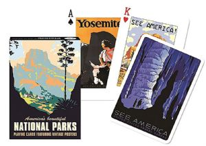 America's Beautiful National Parks  set of 52 playing cards + jokers    (gib)